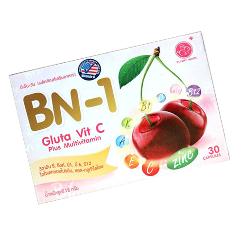 BN1 Gluta Vit C Plus Multivitamin Bunny White